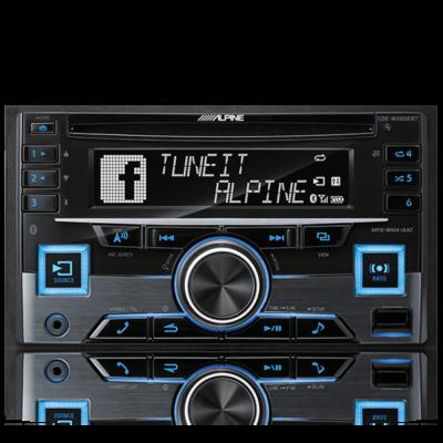 Alpine CDE-W265EBT 2 DIN CD RECEIVER