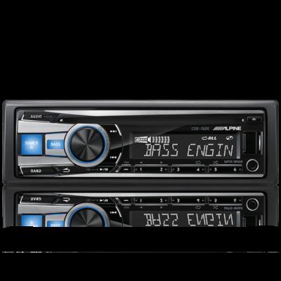 Alpine CDE-153E CD RECEIVER