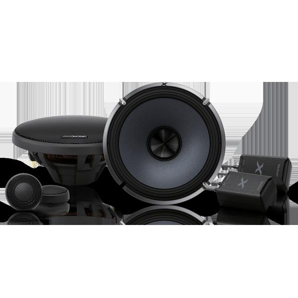 Alpine X-S65C X-Series 6.5 Inch Component 2-Way Speakers