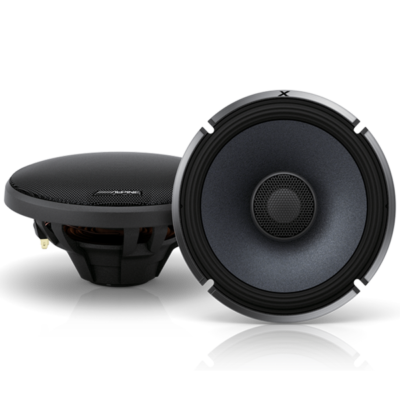 "Alpine X-S65 X Series 6.5"" Coaxial Speakers"