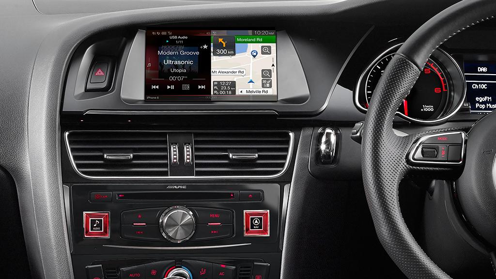 Audi A5 Alpine X701d A45r 7 Quot Navigation Multimedia Solution Sound Garage