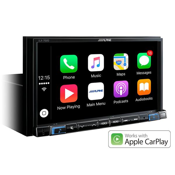 alpine ilx 702d 7 apple carplay android auto sound garage. Black Bedroom Furniture Sets. Home Design Ideas