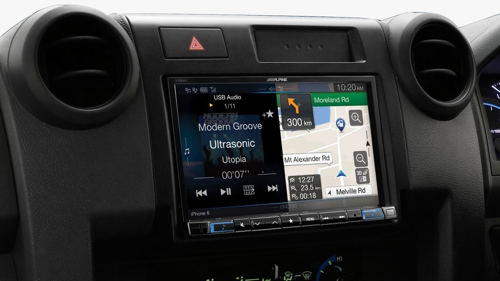 Toyota HJ79 Series Landcruiser Alpine X208AU 8″ Navi Solution