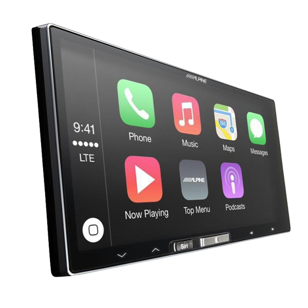 alpine ilx 107 wireless apple carplay head unit sound garage. Black Bedroom Furniture Sets. Home Design Ideas