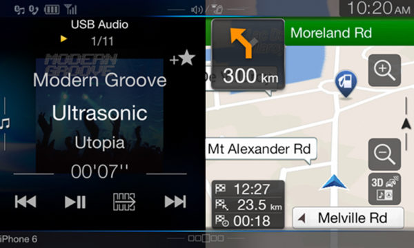 Alpine X901D-VFDVDHD Holden VF Commodore Navigation Solution -