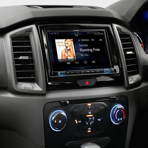 Ford Everest Alpine X208au 8 Navigation Apple Carplay Android