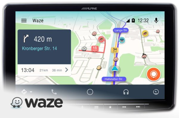 Alpine iLX-F309E - Halo9 Waze navigation - Sound Garage