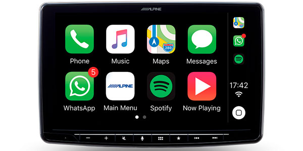 Alpine Halo9 Ilx F309e 9 Carplay Android Auto Digital Media Head Unit