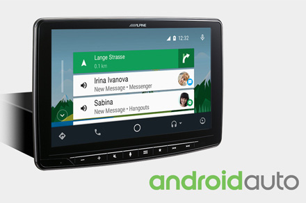 Alpine iLX-F903D-Works-with-Android-Auto