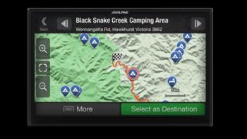 "Alpine BT50-W710D 7"" 3.0 NAVIGATION Hema MappingAPPLE CAR-PLAY ANDROID AUTO for MAZDA -"