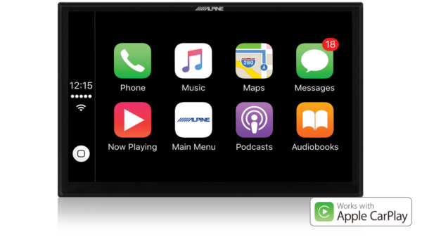 """Alpine X902D-ID-NAV 9"""" Navigation/Apple CarPlay/Android Auto/DAB+ Receiver with hema maps for Iveco Daily -"""
