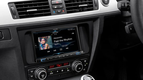 Alpine iLX-702D for BMW 3 Series (Auto HVAC) - Sound Garage
