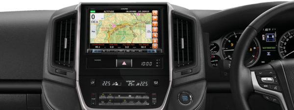 Alpine Toyota LANDCRUISER 200 SERIES LC16-X802D -