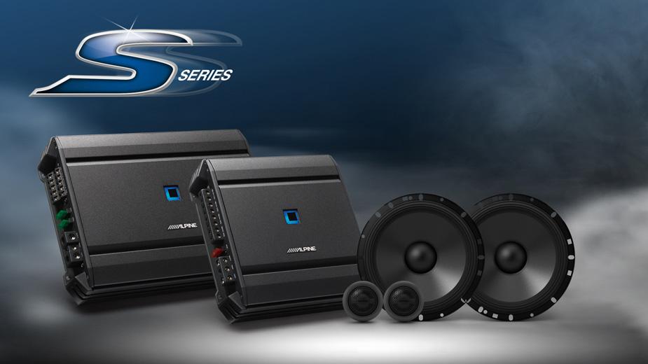 Alpine S-A32F S-SERIES 4Channel Amplifier - Sound Garage