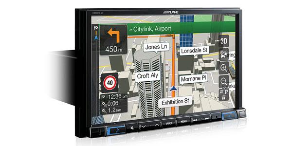 Mercedes Benz A Class - Alpine X802D Navigation/CarPlay/Android Auto  Solution