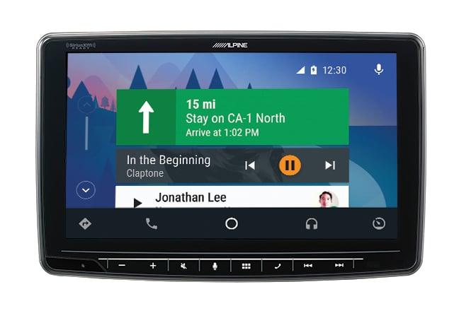 Alpine iLX-F259E Halo9 JNR Android Auto
