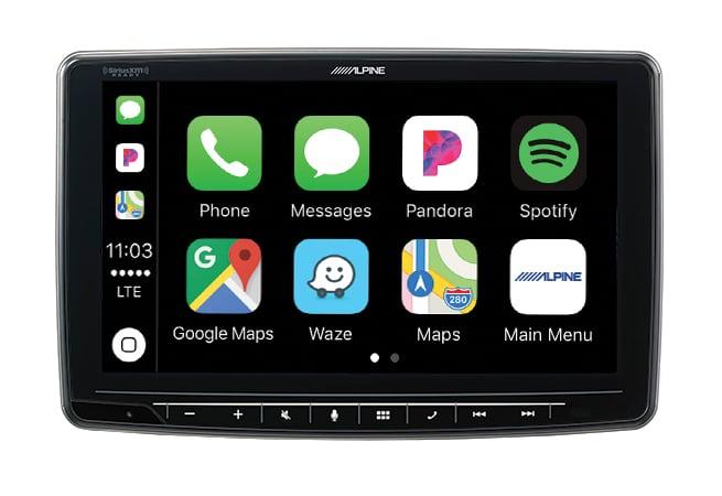 Alpine iLX-F259E Halo9 JNR Apple CarPlay