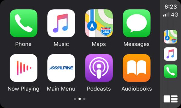 Alpine i902D-VF Apple CarPlay