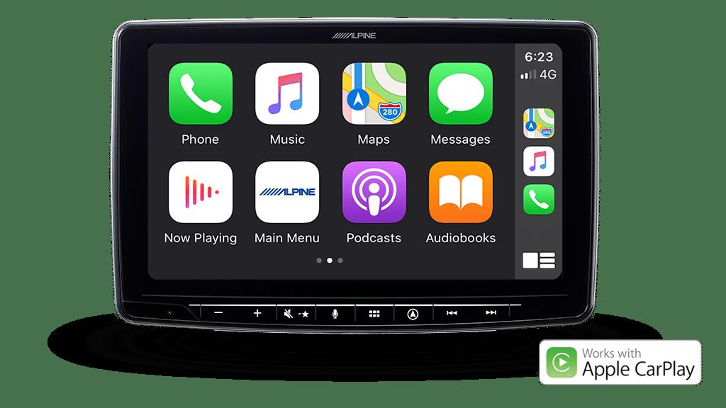 Alpine INE-F409E - Apple CarPlay