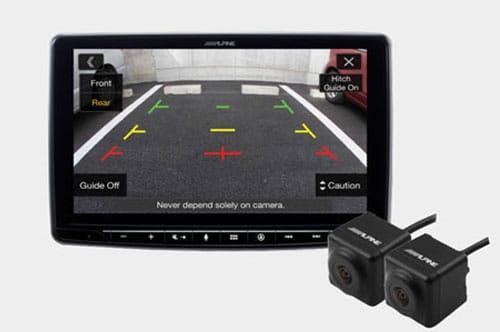 Alpine INE-F409E_Halo9_Navi - Reverse Camera compatible
