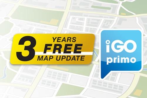Alpine INE-F409E Halo9 Navi - 3 Year Free Map Updates