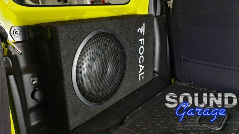 "2019 Suzuki Jimny - Focal PSB200 8"" Subwoofer"