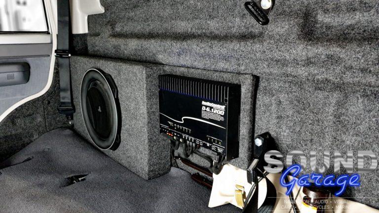 """2019 Toyota HJ79 - JL Audio 13TW5 13"""" Subwoofer + AudioControl D-6.1200 DSP Amplifier"""