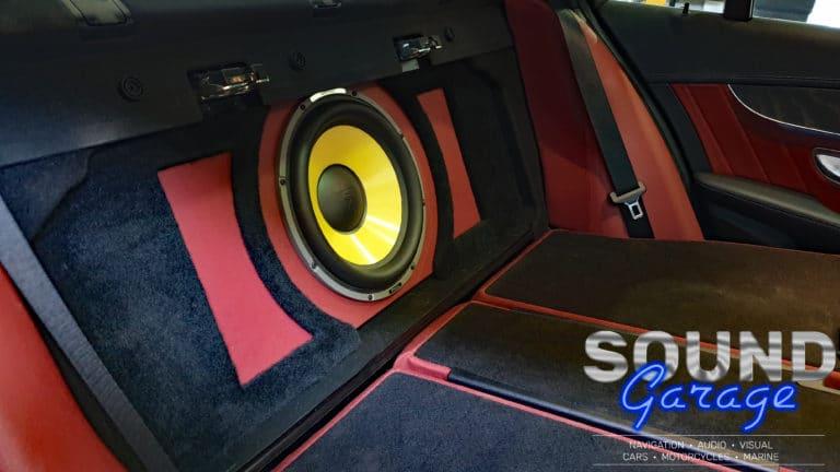 Mercedes Benz C250 - Focal E30KX in a Custom Subwoofer Enclosure
