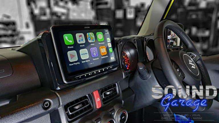 2019 Suzuki Jimny - Alpine INE-F409E Halo9- Navi