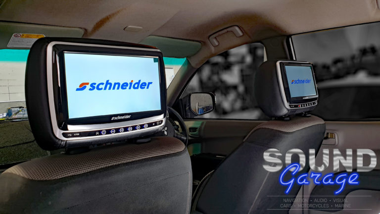 Mitsubishi Triton - Schneider 9066HD Rear Seat Entertainment