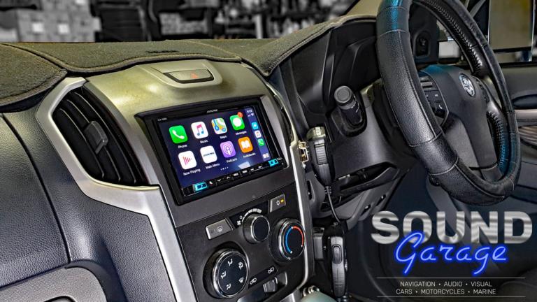 2013 Holden Colorado - Alpine iLX-702D Apple CarPlay/Android Auto Digital Media Player.
