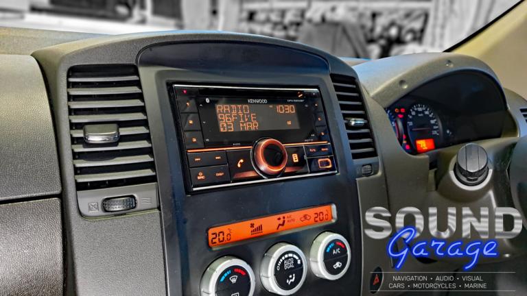 2011 Nissan Navara D40 - Kenwood DPX5200BT CD Receiver