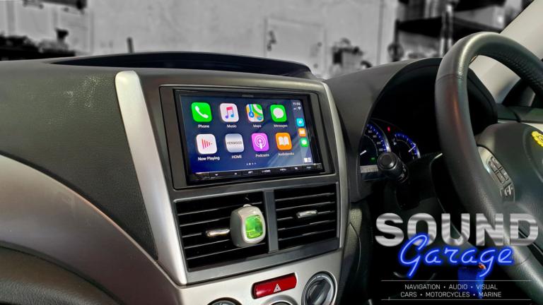 2010 Subaru Forester - Kenwood DMX8019S Apple CarPlay/Android Auto Digital Media station.