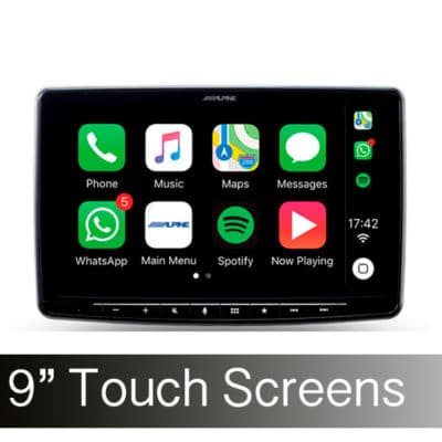 "9"" Touch Screen"