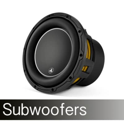 4. Subwoofers